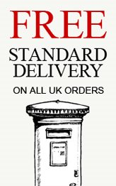 Free standard delivery on all UK orders