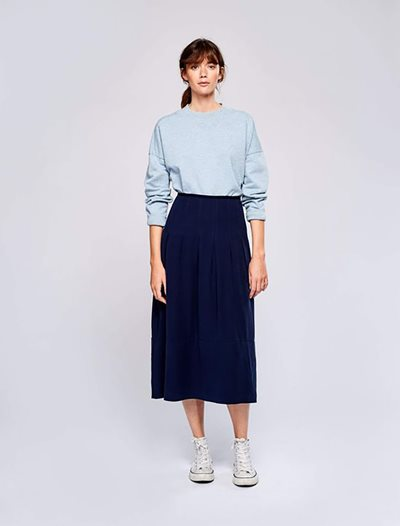 Lexpo Skirt - Navy