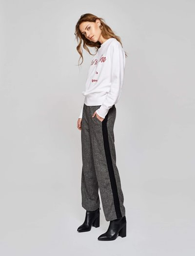 Micky Trousers - Anthracite Black