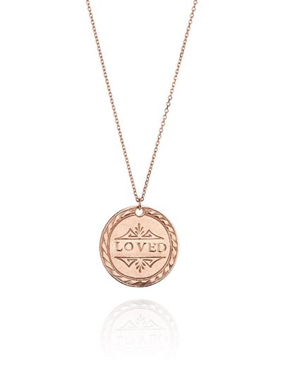 Loved Necklace - Rose Gold