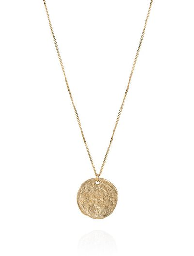 Small Three Pence Necklace