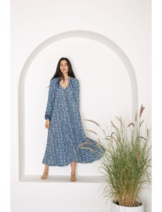 Fiore Dress - Blue Coral Image