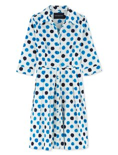 Audrey Dress - Capri Dots