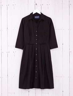Audrey Dress - Solid - Black