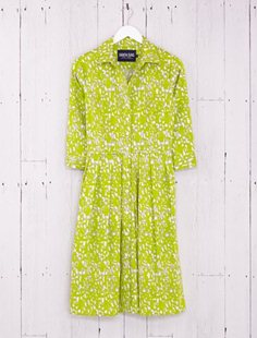 Audrey Dress - Tate Edgewood - Lime Green