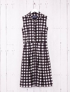 Grace Dress - Tablecloth Gingham - Black