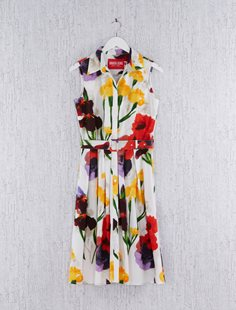Sleeveless Audrey Dress - Multi Flower
