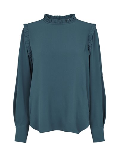 Misty Blouse - Atlantic Blue