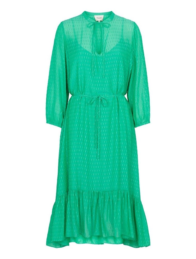 Reve Midi Dress - Green Image