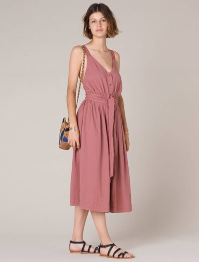Aiko Dress - Canyon Rose