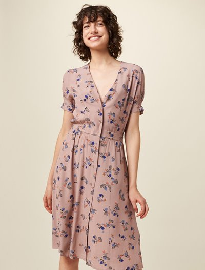 Madoura Dress - Cameo Rose