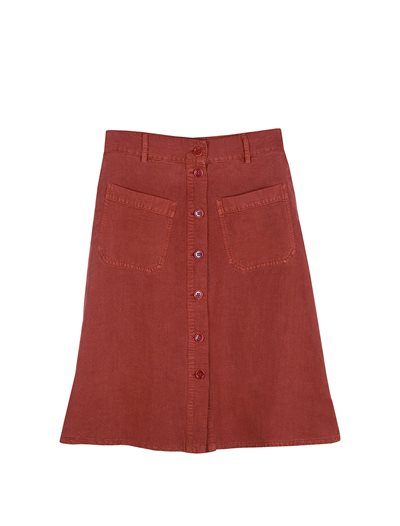 Song Skirt - Kahlo Red