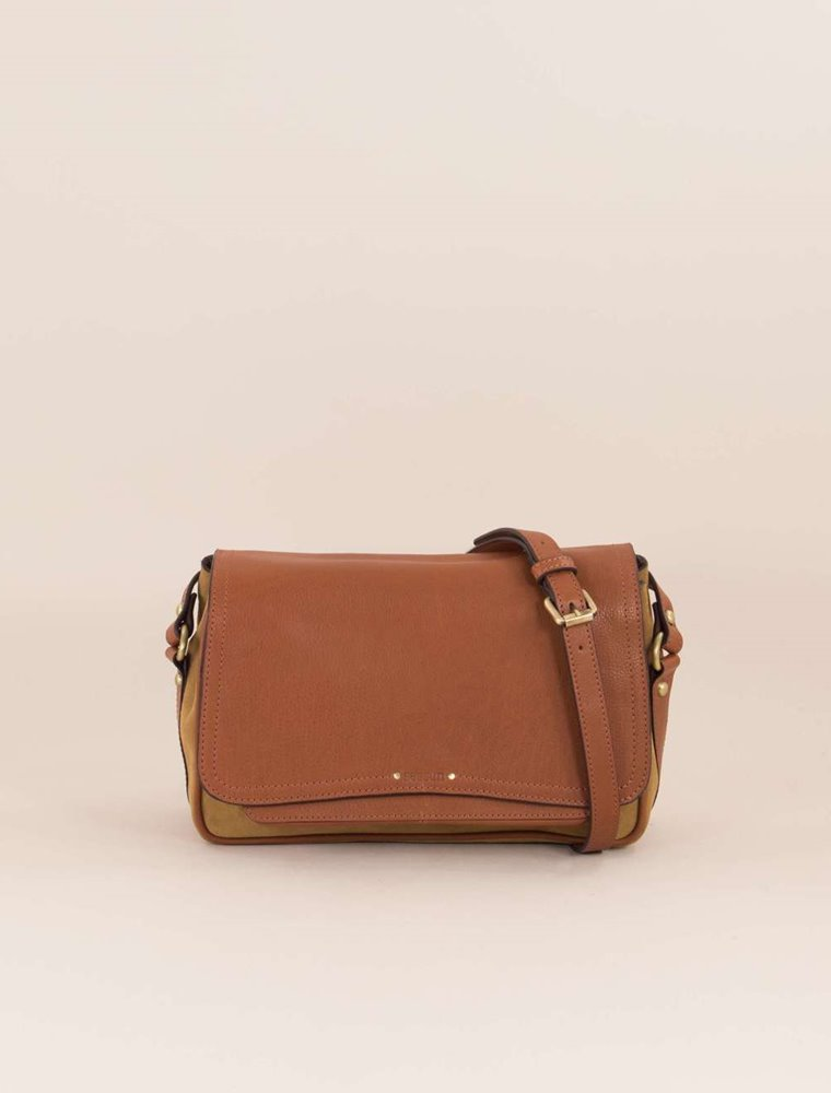 Tano Leather Bag - Roux Jewels Image