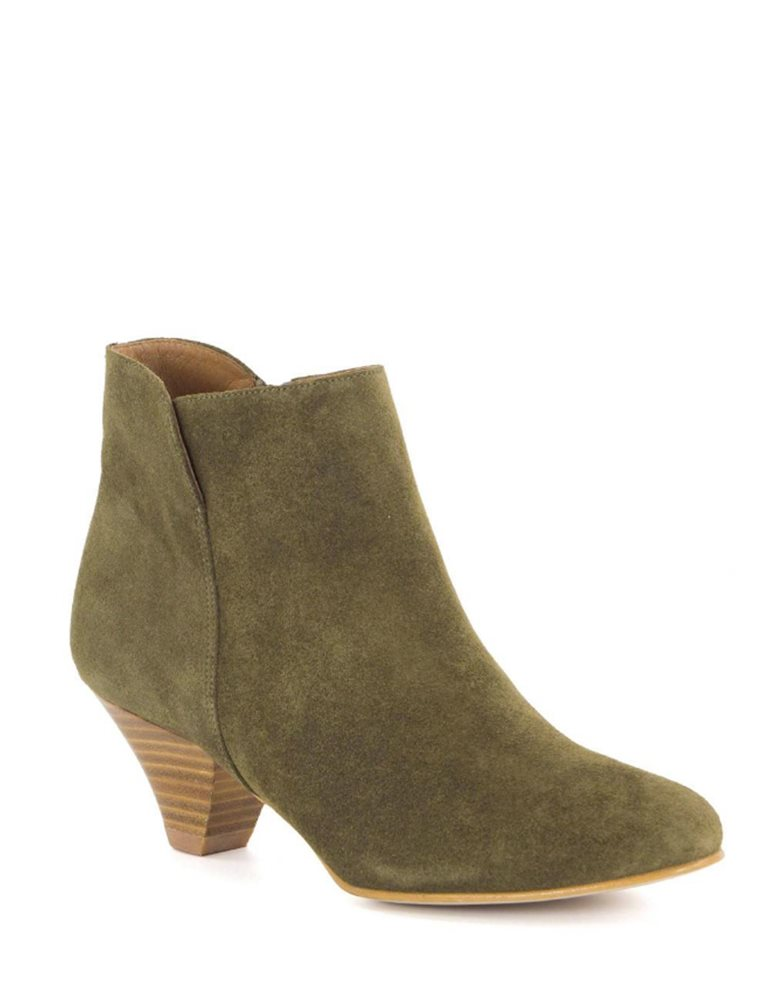 You Boot - Khaki Suede Image