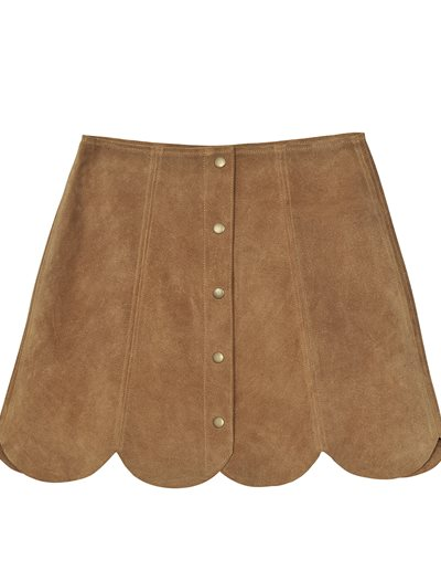 Dakota Skirt - Noisette