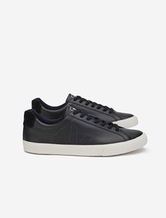 Esplar Black Leather Pierre Sneakers