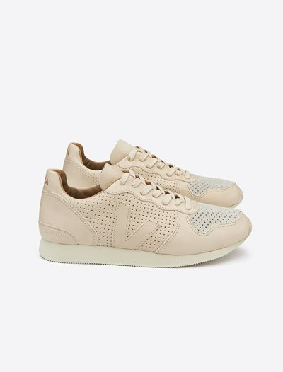 Holiday Virgin Leather Perforated Trainers