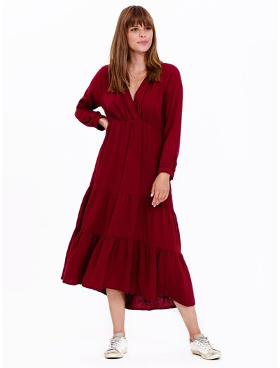 Avalyn Dress - Port
