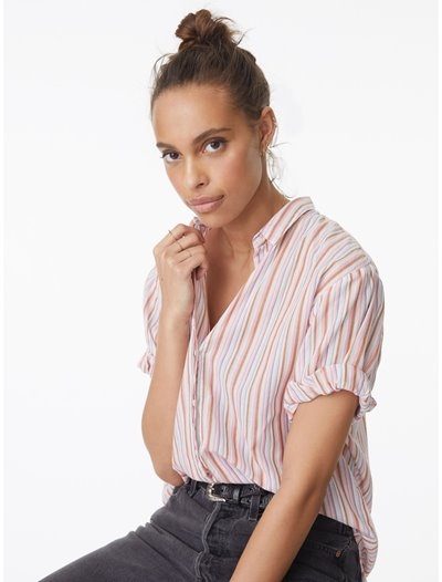 Channing Shirt - Copper Blush