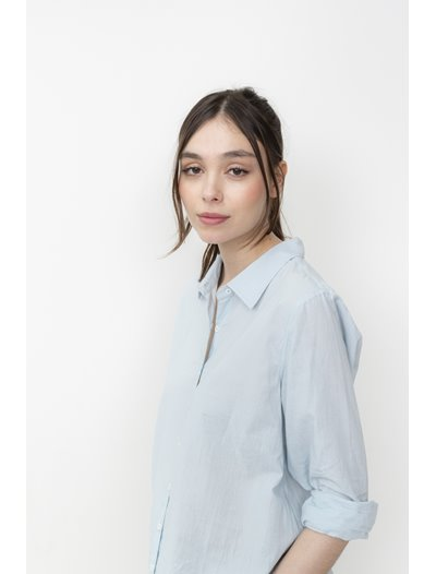 Annie Shirt - Pale Blue