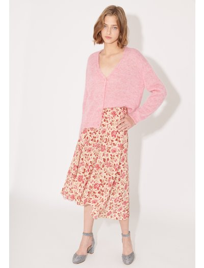 Boteco Skirt - Raspberry
