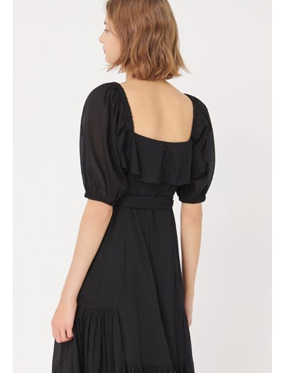 Galera Dress - Black