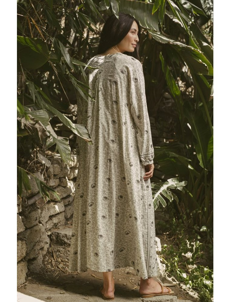 Fiore Maxi Dress - Vintage Flowers Quartz Image