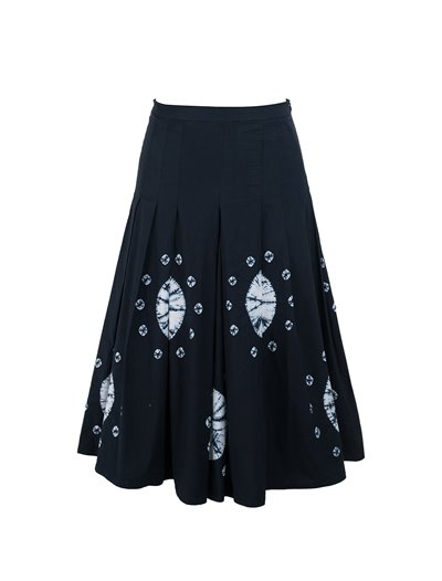 Zeller Skirt - Nana Shibori - Cotton Stretch