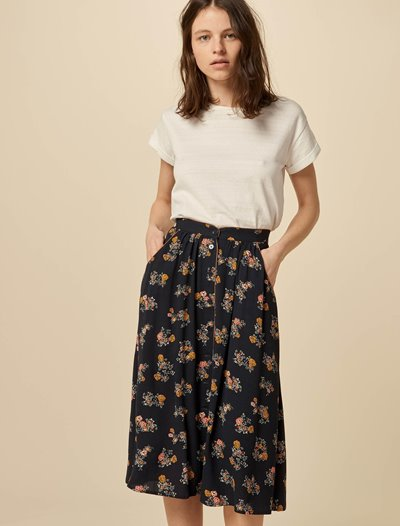 Daiga Skirt - Dark Navy Rosario