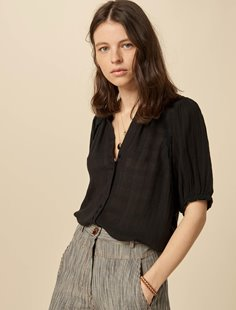 KIminzo Blouse - Black