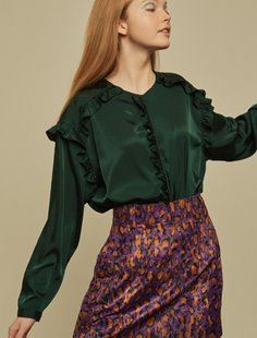 Grenadine Shirt - Green Image