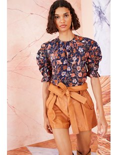 Joni Blouse-  Midnight Floral