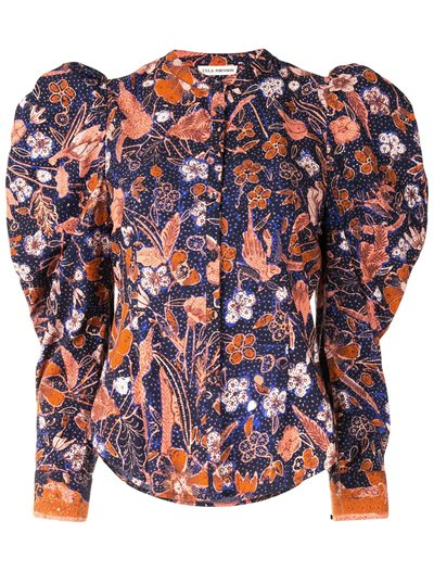 Willa Blouse - Midnight Floral