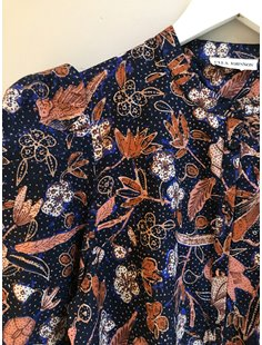 Willa Blouse - Midnight Floral Image