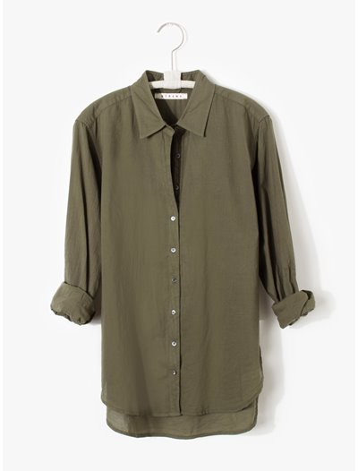 Beau Shirt - Bottle Green