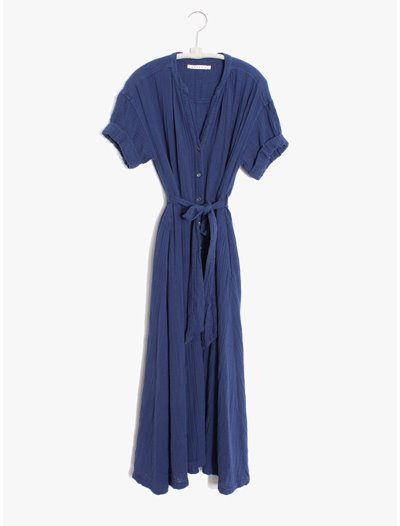Cate Dress - Off Shore Blue