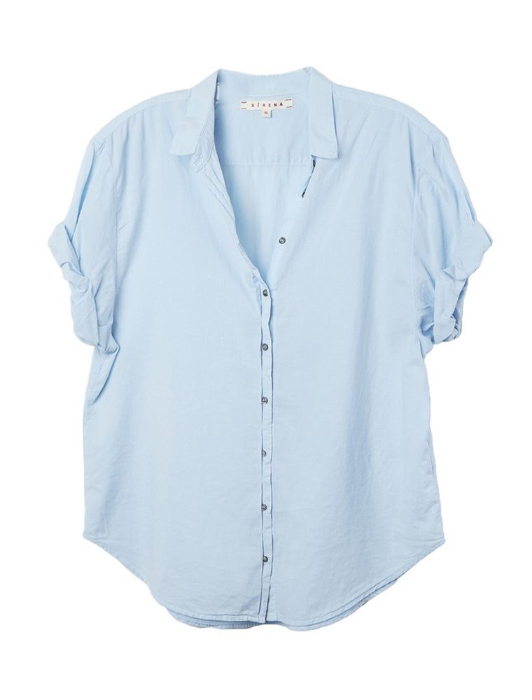 Channing Shirt -  Blue Wash Image
