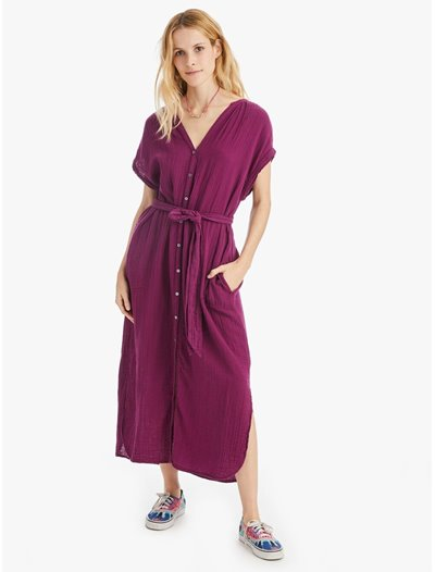 Samantha Dress - Grape Crush