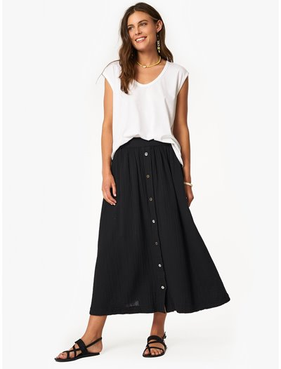 Teagan Skirt - Black